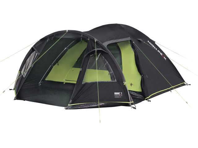 High Peak Mesos 4 Tente, dark grey/green